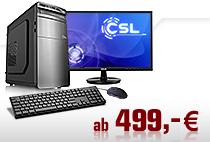 PC-Systeme mit Monitor