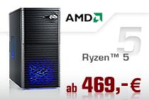 PC-Systeme AMD Ryzen 5