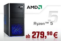 Aufrüst-PCs AMD Ryzen 5