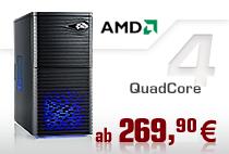 PC-Systeme AMD QuadCore