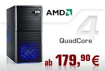 Aufrüst-PCs AMD QuadCore
