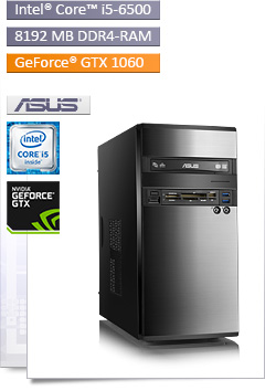 PC - CSL Speed 4624 (Core i5) - Powered by ASUS