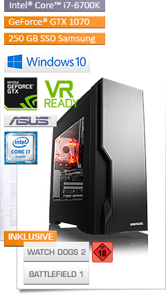 PC - CSL Speed X4910 (Core i7) - Powered by ASUS