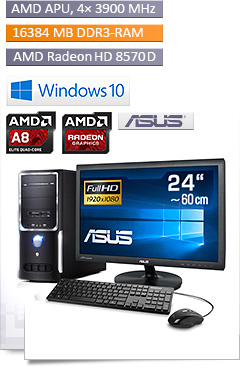 PC - CSL Sprint Vision X6467 - Powered by ASUS