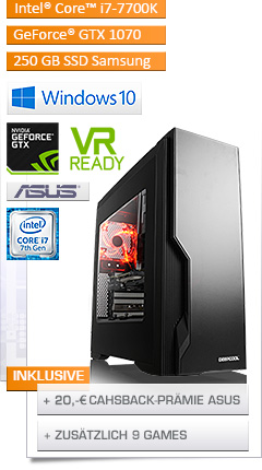 PC - CSL Speed X4925 (Core i7) - Powered by ASUS