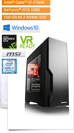 PC - CSL Speed X4932 (Core i7) - Powered by MSI