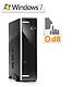 Mini PC - CSL Ultra Silent Q1900-5 / Win 7 Pro