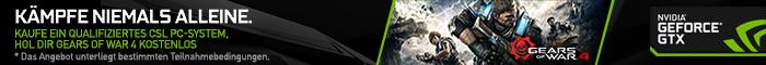Gears of War 4 gratis zu ausgew�hlten CSL PC-Systemen