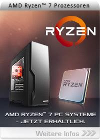 AMD Ryzen PCs jetzt bei CSL!