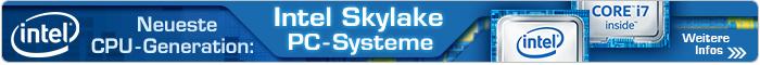 NEU: Intel Skylake PC-Systeme bei CSL