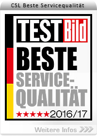 Beste Servicequalität bei CSL