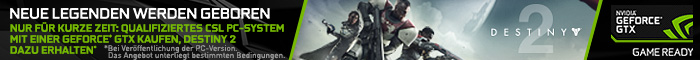 Destiny 2 zu ausgewählten PCs!