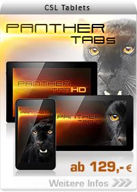 CSL Panther Tabs ab 129,- EUR