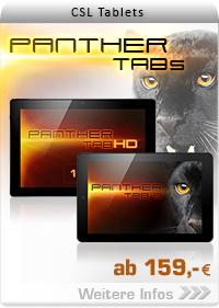 CSL Panther Tabs ab 99,- EUR